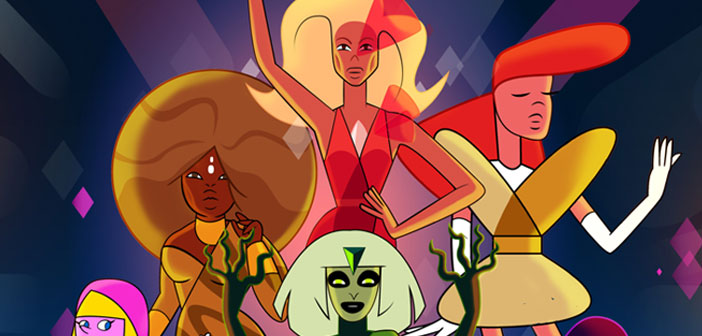 Here's What Happens When You Mash-Up 'RuPaul's Drag Race' and 'Steven Universe'