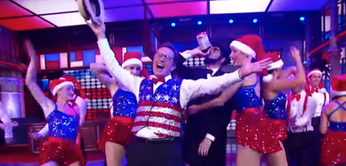 Stephen Colbert's Musical Number, Comedy Makes The RNC Almost Bearable (Almost)