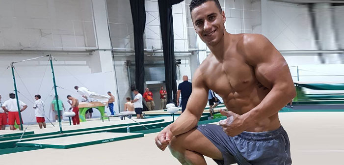 PICS: U.S. Gymnast Jake Dalton's Muscles are Made of Pure Magic