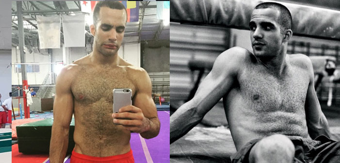 PICS: U.S. Gymnast Danell Leyva is Hot Enough to Fry an Egg on