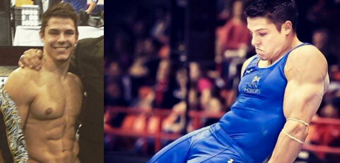 PICS: U.S. Gymnast Chris Brooks Wins the Lust Olympics