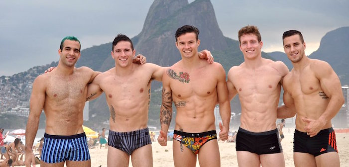 PICS: The U.S. Men's Gymnastics Team Gets the Gold in Sexy Hotness