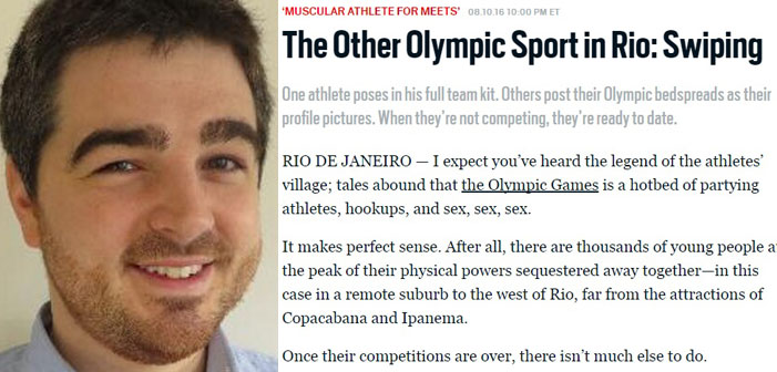 Hack Who Outed Closeted Olympians Reportedly Sent Home From Rio