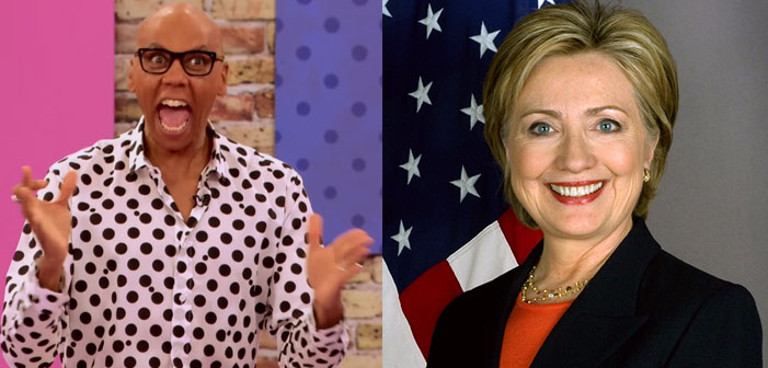 RuPaul Knows You Dislike Hillary Clinton, But He Admires Her Anyway