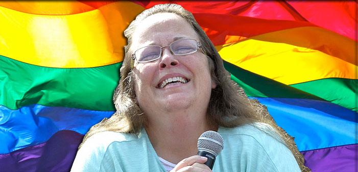 Anti-Gay Clerk Kim Davis' Home County Just Held Its First Pride