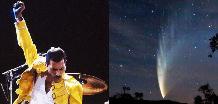Queen-Loving Astronomer Renames Asteroid After Freddie Mercury