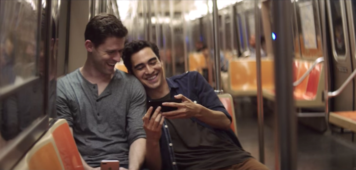 iPhone 7 Commercial Features Cute Gay Couple!