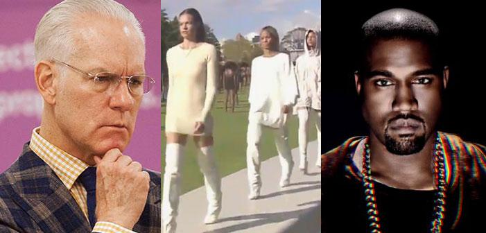 Project Runway's Tim Gunn Calls Kanye West's Fashion Line 'Dumb, Basic'