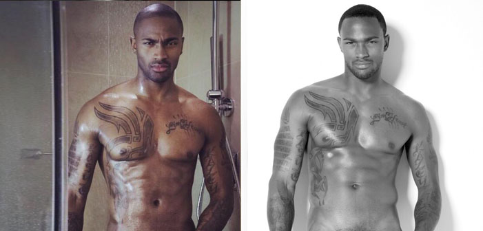 'ANTM' Winner Keith Carlos Can't Fit His Bulge Inside of Pants