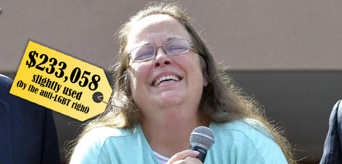 Kim Davis' Stance Against Same-Sex Marriage May Cost $233,058