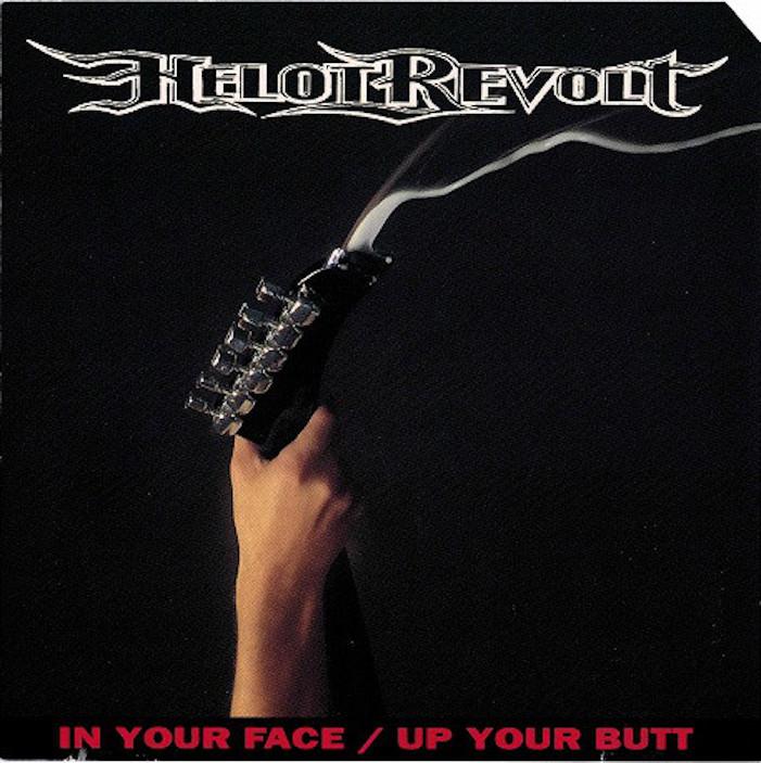 helot revolt, in your face, up your butt, queer album, queer music, metal