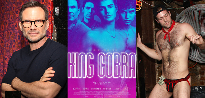 PICS: Christian Slater, Lethally Sexy Hunks At 'King Cobra' IFC Premiere