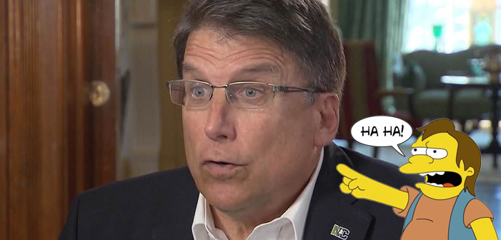 Pat McCrory Still Doesn't Think He Lost North Carolina's Governor's Race