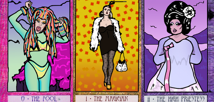 Alguém Transformou as Drag Queens do RuPaul em Cartas dos Arcanos Maiores do Tarot
