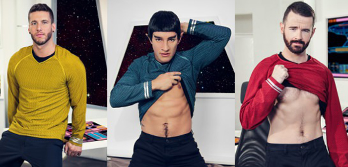 VIDEO: Mr. Spock is a Vers-Bottom in the 'Star Trek' Gay Porn Parody