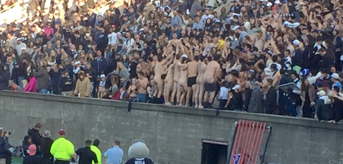 Harvard-Yale Football Game Delayed By A**holes — Literally (Pics)