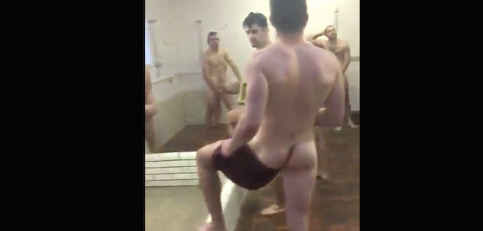 The Best 'Mannequin Challenge' Vid Features Rugby Players in the Shower (NSFW)