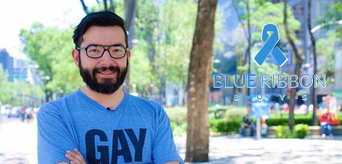 Blue Ribbon Boys: LGBT Journalist Cristian Galarza Fights Against HIV Stigma