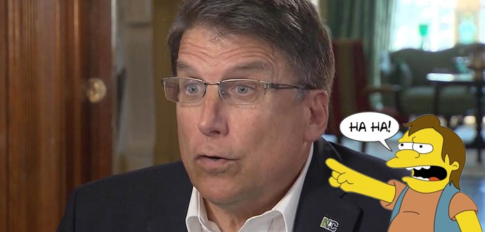 Transphobic North Carolina Governor Pat McCrory Finally Concedes