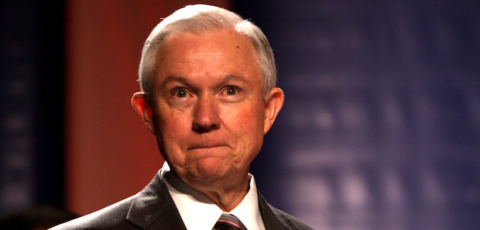 Jeff Sessions Says He'll Uphold LGBTQ Protections