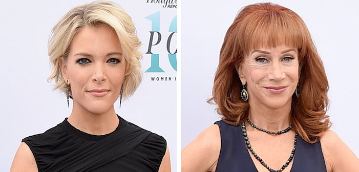 Kathy Griffin Boos Megyn Kelly's Trump Support at 'Women in Entertainment' Breakfast