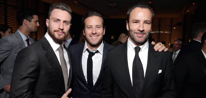 Tom Ford to Armie Hammer: 'Lose 15 Pounds to Be in My Movie'