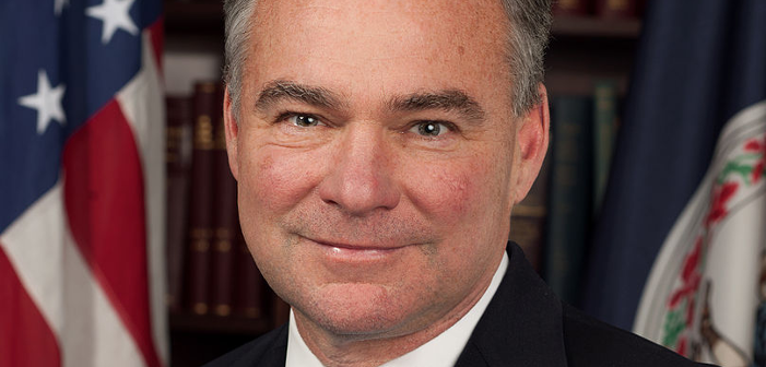 Tim Kaine Spent Inauguration Day Marrying a Lesbian Couple