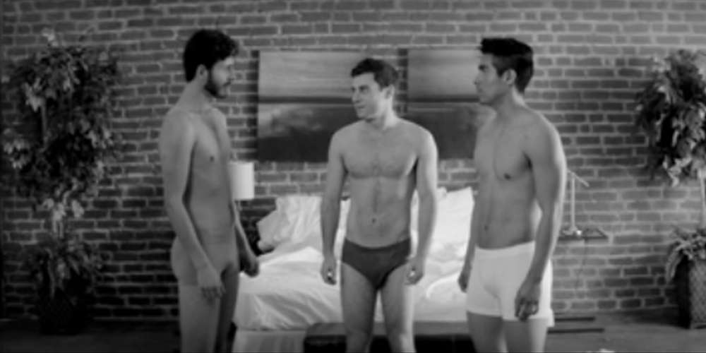 Join a Threesome with a Jock, Otter and Latin Guy (Video)