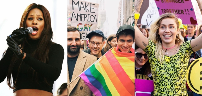 22 Awesome LGBTQ Instagrams from the Women's March (Photos)