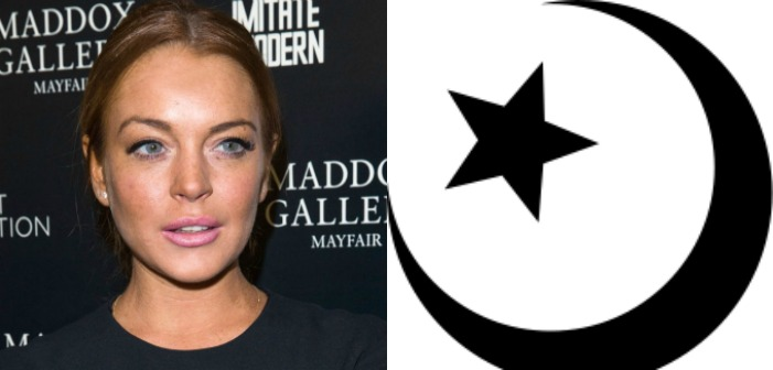 Lindsay Lohan May Have Converted to Islam