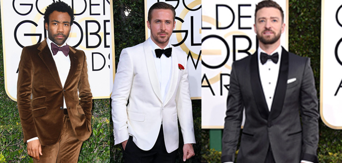 Here's the Best Men's Fashion from the Golden Globes