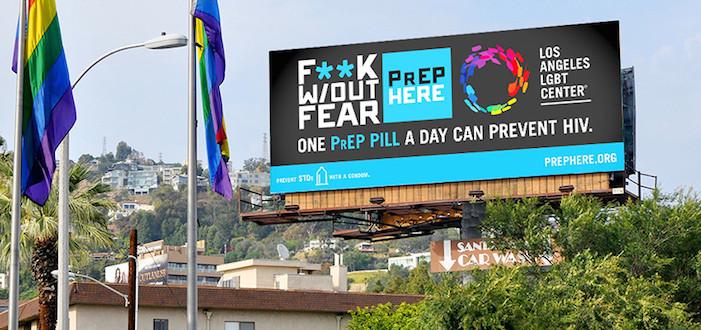 'F**k W/Out Fear' Says L.A. LGBT Center's New PrEP Campaign