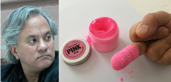 A Tale of Two Artists Feuding Fiercely Over Pink and Glitter