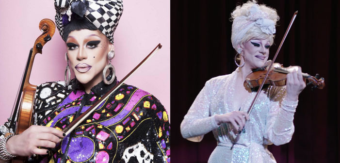 Drag Race's Thorgy Thor Plays Violin in Amazon's 'Mozart in the Jungle'