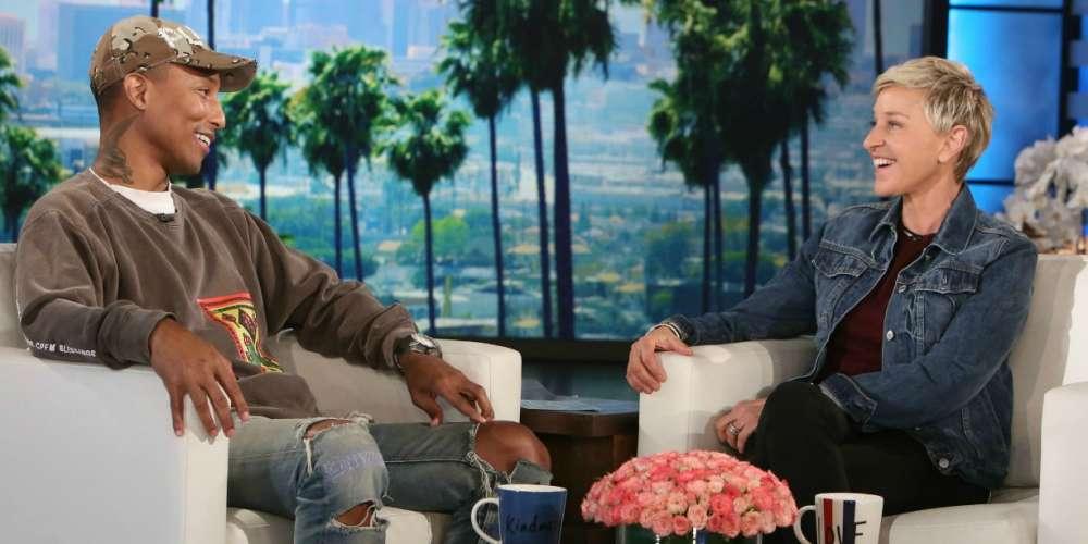 Watch Ellen and Pharrell Talk Kim Burrell's Homophobic Remarks