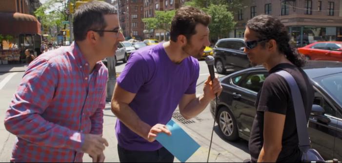 Gay Men Eviscerate Comedian John Oliver's Self-Esteem (Video)