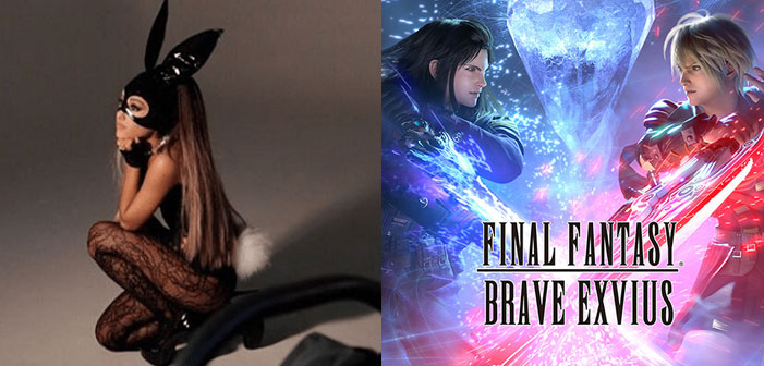 Ariana Grande to Appear in 'Final Fantasy: Brave Exvius'