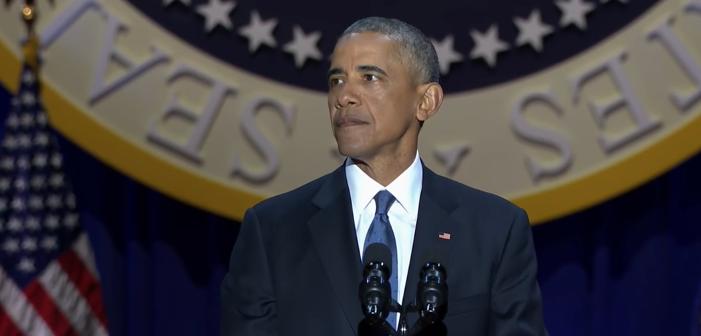 Obama évoque les droits LGBT dans son discours d'adieu