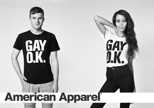 Retour sur les campagnes très LGBT friendly d'American Apparel