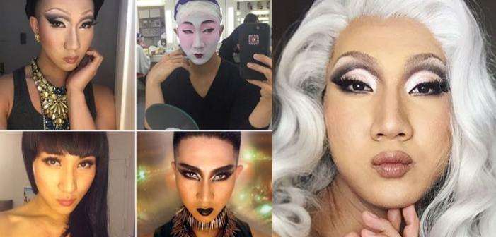 Esse Monge Budista Gay Usa Maquiagem para Espalhar a Iluminação