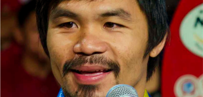 Filipino Boxer and Senator Manny Pacquiao Opposes LGBTQ Rights and Defends Murderers
