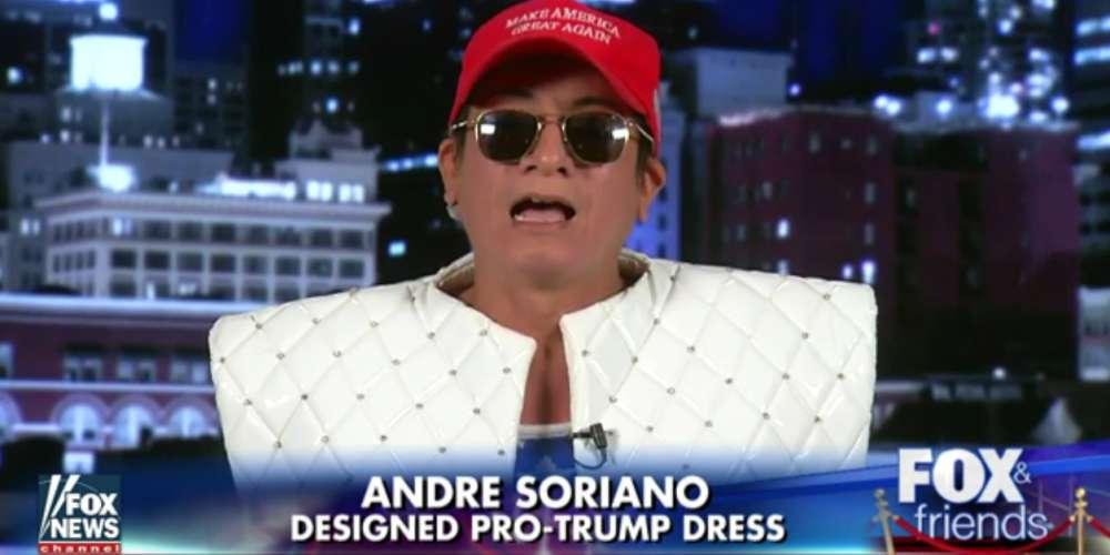 Meet the Gay Immigrant Who Designed Joy Villa's Pro-Trump Dress at the Grammys