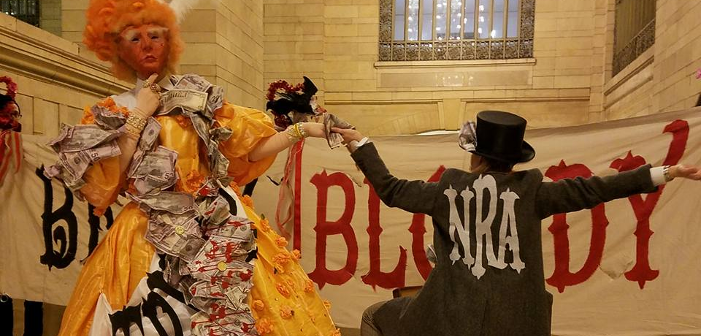 'Gays Against Guns' Mocks Trump with Grand Central Station Drag Show (Video)