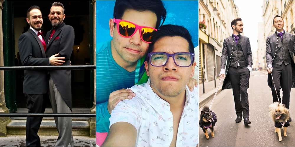 These 3 Gay Couples Found Love on Hornet, and So Can You