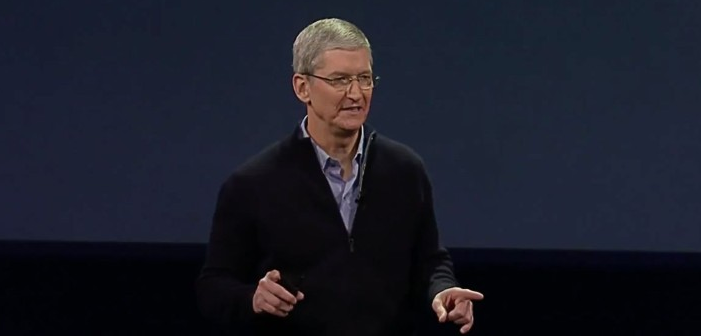 Apple's Gay CEO Tim Cook Calls for a Campaign Against Fake News