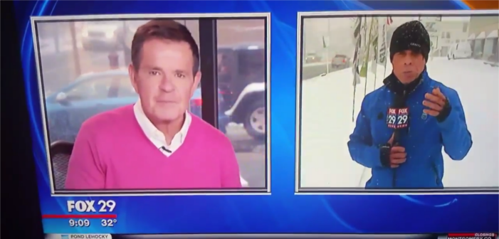 Watch This Reporter's Homophobic Joke Wither and Die (Video)