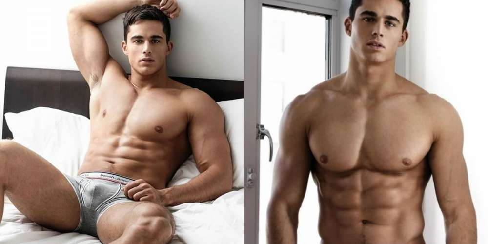 Pietro Boselli Sizzles in New Campaign for Bench Body (Photos)