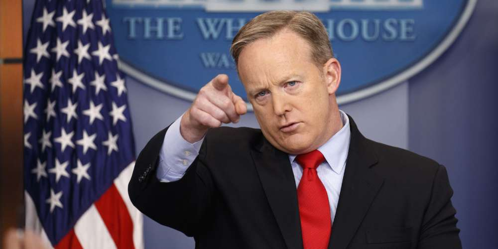 Watch Donald Trump's Press Secretary Mispronounce—Well, Basically Everything (Video)