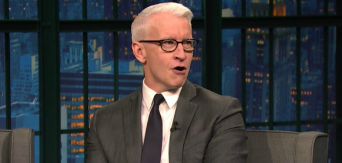 Watch Anderson Cooper Turn Back Time and Impersonate Cher