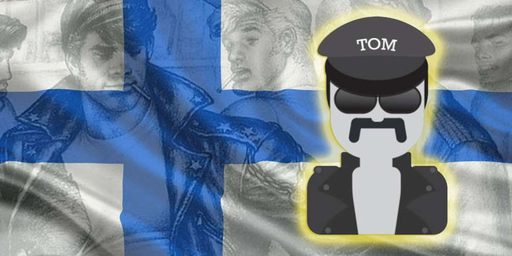 The New Tom of Finland Emoji is Perfect for Sexting Your Leather Daddy